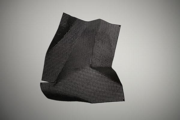 Из серии «Куски металла». 2012-2013. Вороненая сталь. 100см. х 100см.